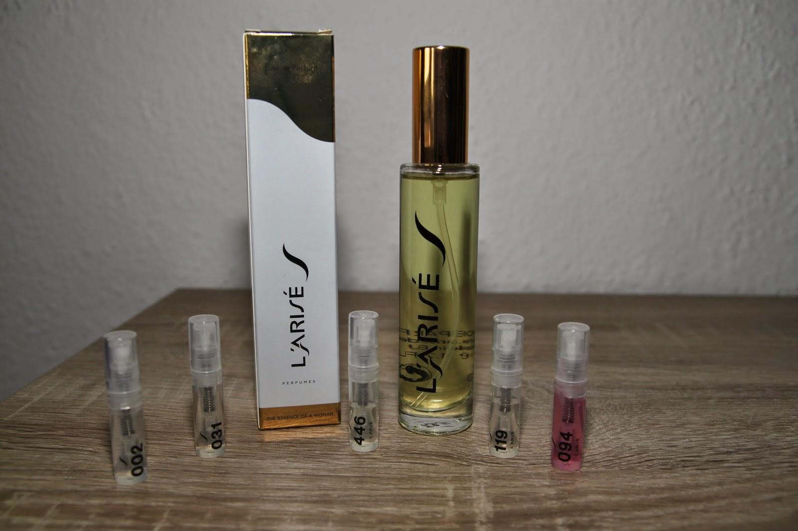 Parfumtest mit Duftzwillingen (Dupes) von L'Arisé