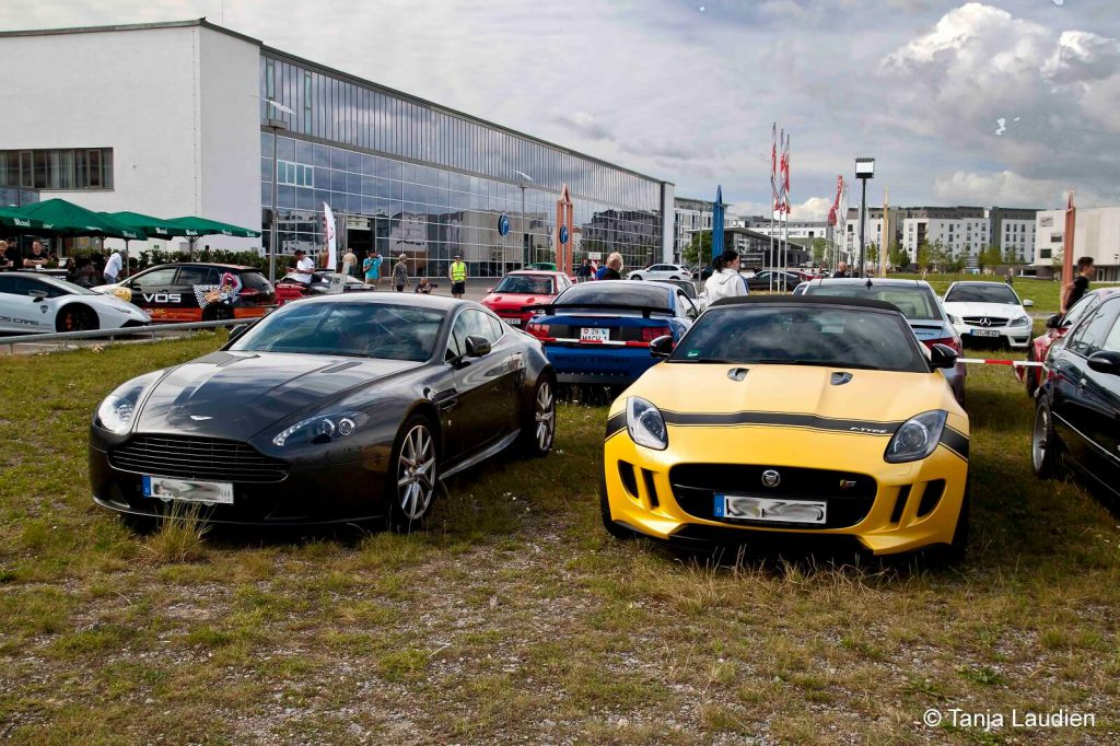 Jaguar F-Type and Aston Martin