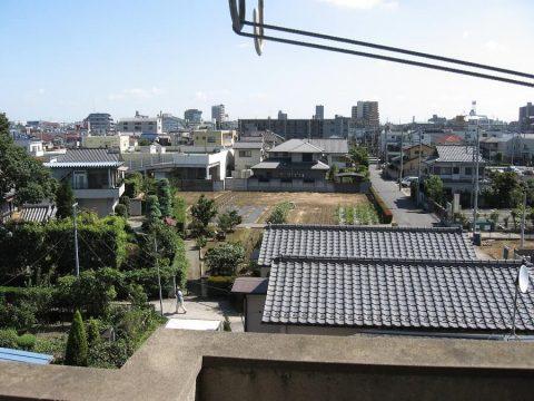 Aussicht auf Soka aus meiner Wohnung