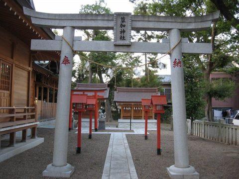 Tempelanlage in Soka