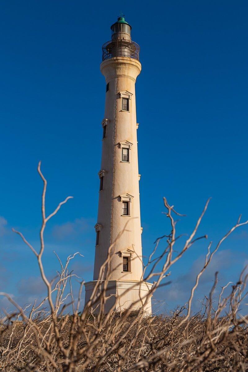 Leuchtturm Faro Blanco Aruba