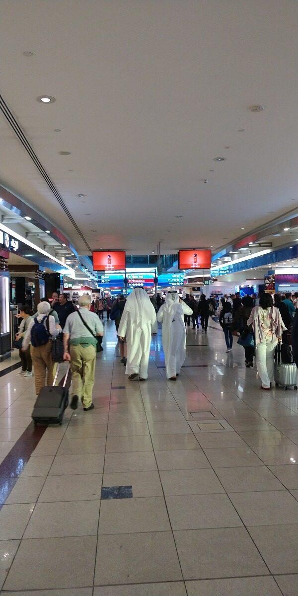 Dubai Airport - Flughafen von Dubai