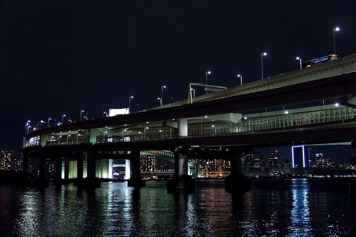 Rainbowbridge in Odaiba, Tokyo