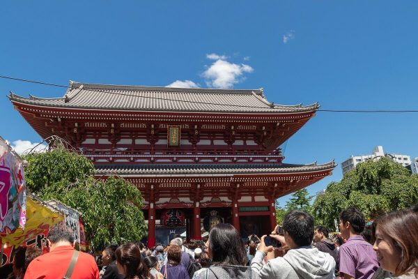 Hōzōmon, Asakusa, Tokyo, Japan