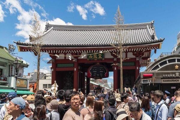 Kaminarimon, Thunder Gate, Asakusa, Japan