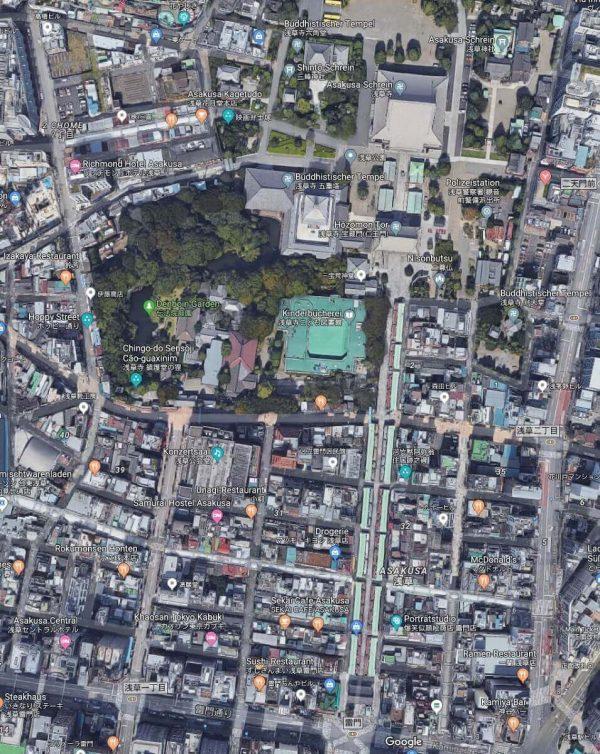 Tempelanlage von Asakusa