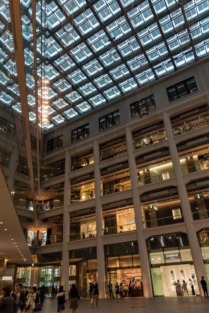 Im Marunouchi Park Building, Tokyo, Japan, Kaufhaus