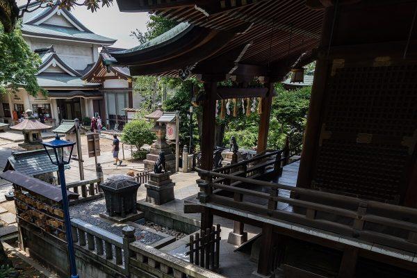 Gojo Tenjinsha Schrein, Ueno Park, Tokyo, japan