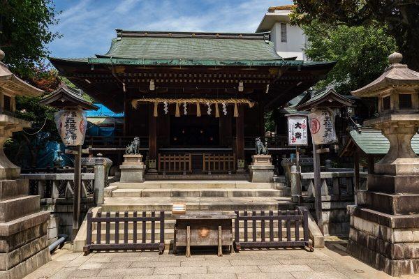 Gojo Tenjinsha Shrine , Ueno Park, Tokyo, Japan