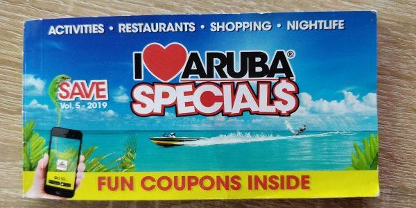 I Love Aruba Gutscheinheft für günstigen Urlaub