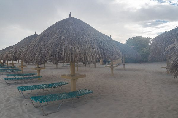 Palapas am Eagle Beach Aruba
