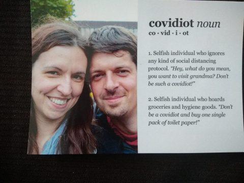 Solidaritätes-Postkarten mit MyPostcard