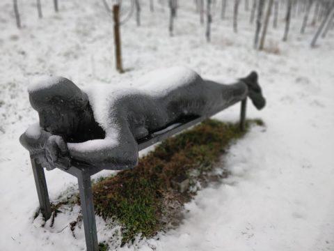 Nuss Skulptur Strümpfelbach